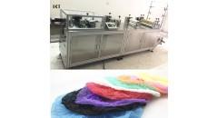non-woven cap making machine, cap making machine, kaxite technology, making machine, shoe cover making machine
